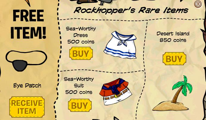 Club penguin october clothing catalog cheats secrets and for Best time of the year to buy furniture